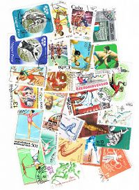 25 different Summer Olympics packet